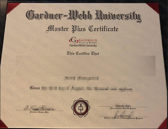 Usa Gardner Webb University Free Sample From Phonydiploma