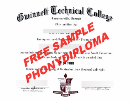 Usa Gwinnett Technical College Free Sample From Phonydiploma
