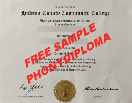 Usa Hudson Copunty Community College Free Sample From Phonydiploma