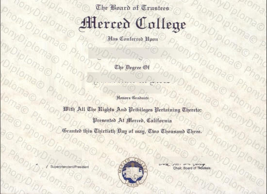 Usa Merced College Free Sample From Phonydiploma