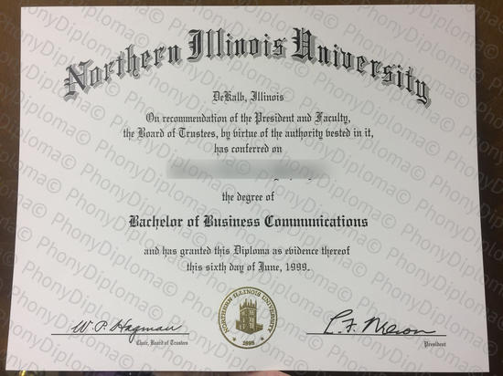 Usa Northern Illinois University Free Sample From Phonydiploma
