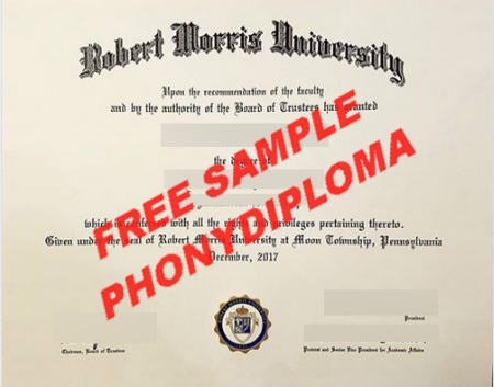 Usa Robert Morris University Free Sample From Phonydiploma