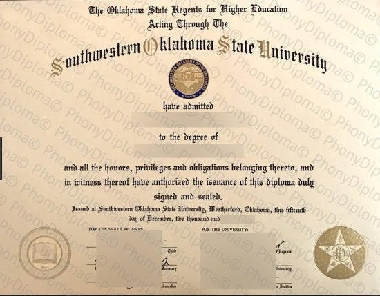 Usa Southwestern Oklahoma State University Free Sample From Phonydiploma