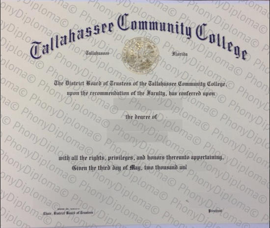 Usa Tallahassee Community College Free Sample From Phonydiploma