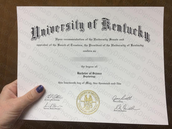 Usa University Of Kentucky Photo Free Sample From Phonydiploma