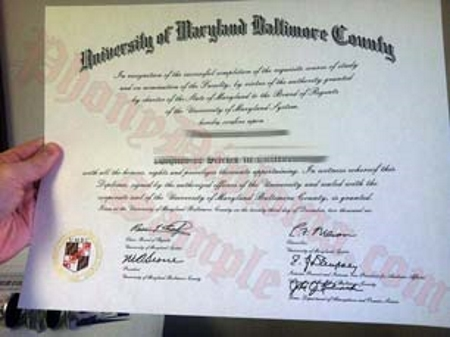 Usa University Of Maryland Baltimore County Photo Free Sample From Phonydiploma
