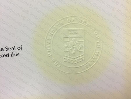 We Make Custom Embossed Emblem For Fake Diplomas