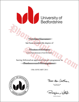 University Of Bedfordshire Free Sample From Phonydiploma