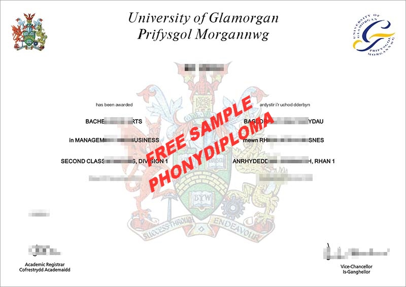 University Of Glamorgan 2 Free Sample From Phonydiploma