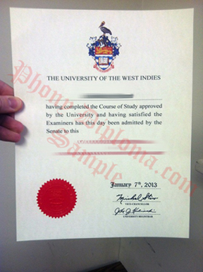 University Of The West Indies Photo Free Sample From Phonydiploma