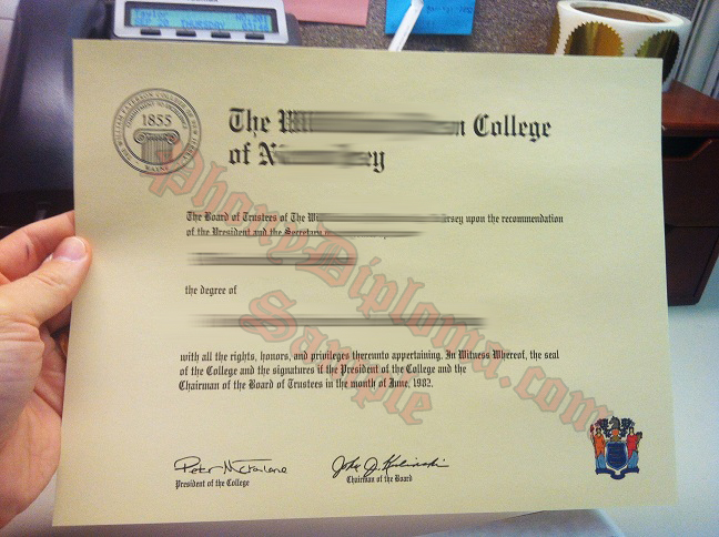 William Paterson University Photo Free Sample From Phonydiploma