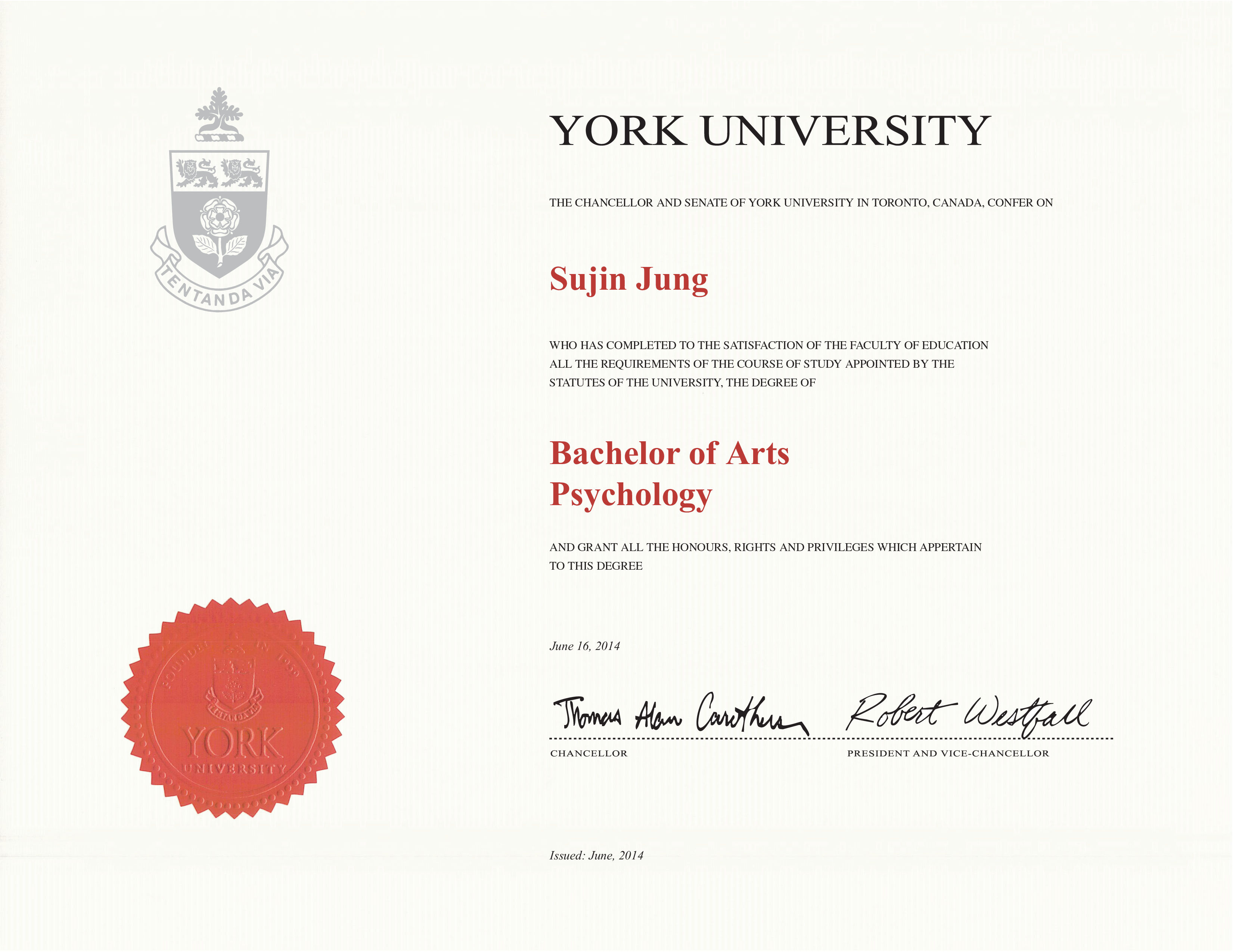 York University Free Sample From Phonydiploma (2)