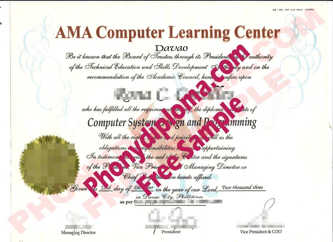 All Fake Certificate Samples - PhonyDiploma com