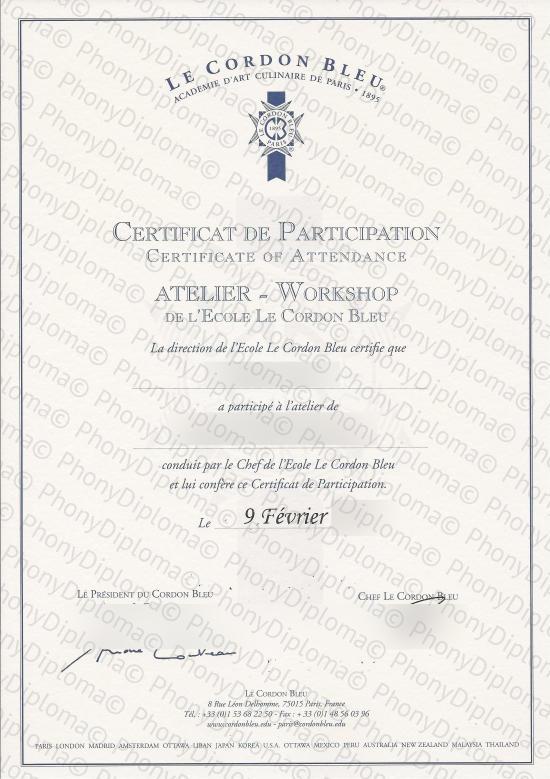 all fake certificate samples