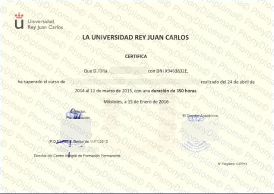 Spain La Universidad Rey Juan Carols