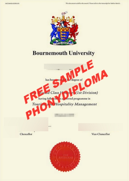 Australia Bournmouth University Free Sample From Phonydiploma