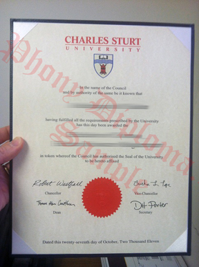Charles Sturt University Fake Diploma From Canadian School From Phonydiploma