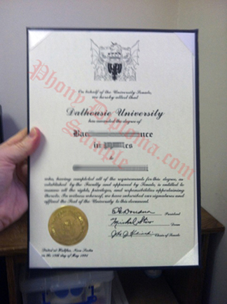 Dalhousie University Fake Diploma From Canadian School From Phonydiploma