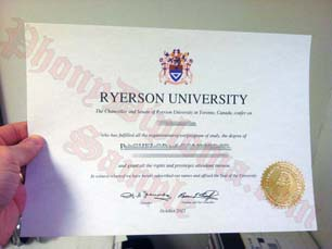 Ryerson University Fake Diploma From Canadian School From Phonydiploma