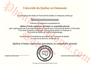 Universite Du Quebec En Outaouais Fake Diploma From Canadian School From Phonydiploma