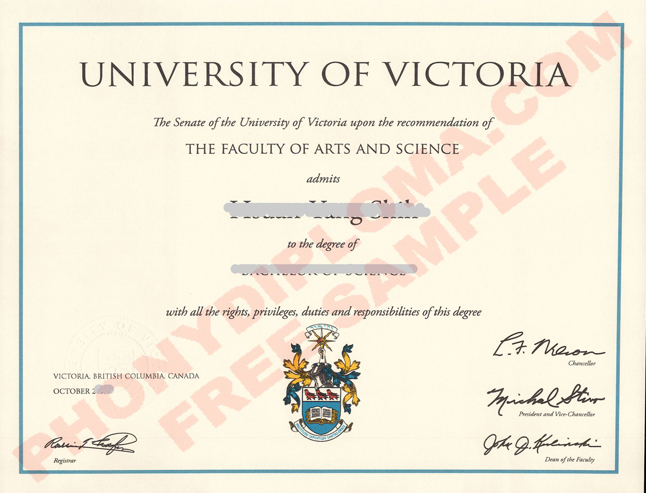 University Of Victoria Scan Inquiry