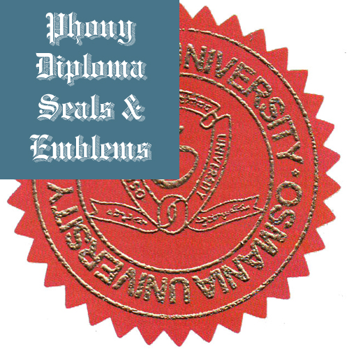 Emblem, Seal Upgrade: Diploma