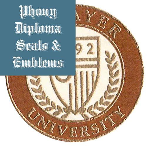 Strayer Usa Fake Diploma Dual Color Raised Foil Emblem Seal Phonydiploma