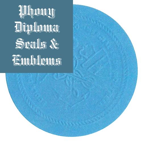 Universite De Montreal Canada Fake Diploma Embossed Emblem Seal Phonydiploma
