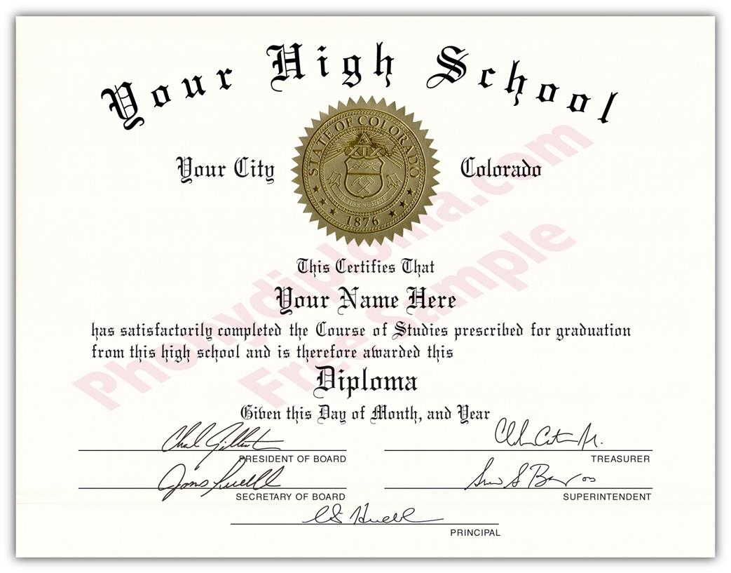 Fake USA High School Diplomas By State