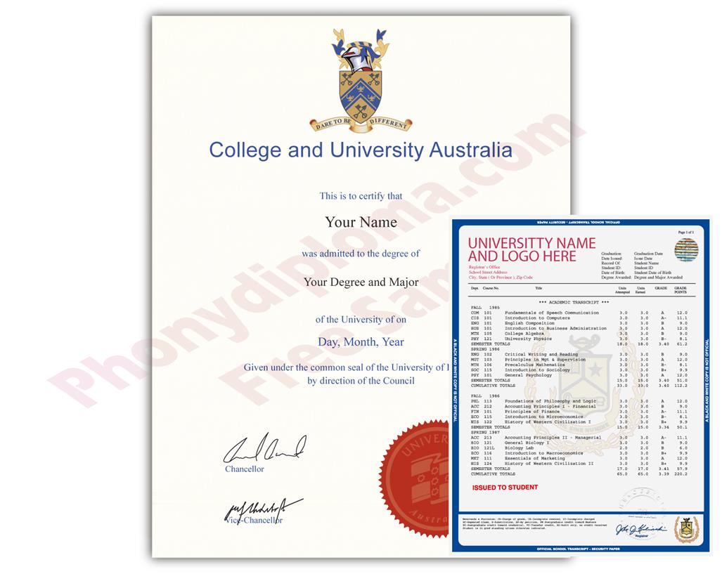 A Realistic Australian Replacement Diploma When You Need a Degree