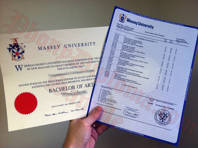 Fake Diploma and Transcripts from New Zealand School
