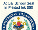 Printed Ink Actual School Seal/ Logo