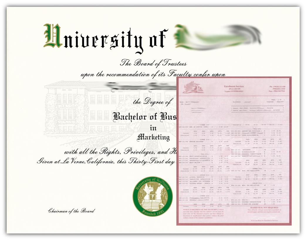 Custom Match Diplomas & Transcripts