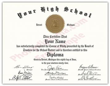 High School Fake Diplomas, Fake High School Degrees And Transcripts