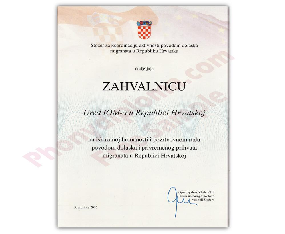 Buy Fake Diplomas and Transcripts from Croatia
