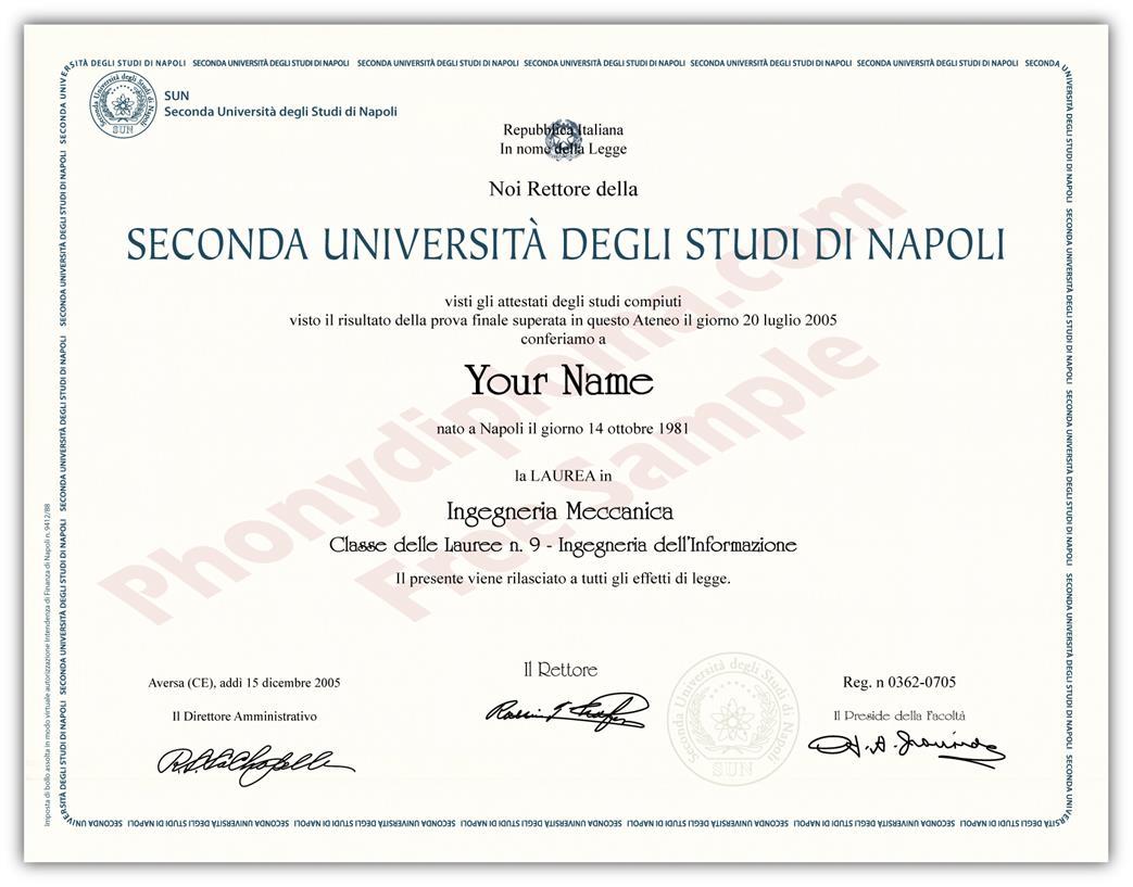 Buy Fake Diplomas and Transcripts from Italy