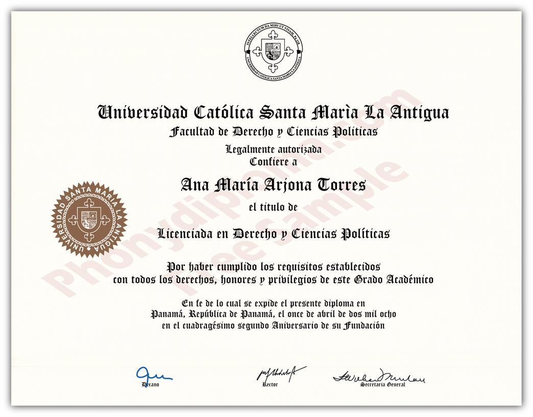 Buy Fake Diplomas and Transcripts from Panama