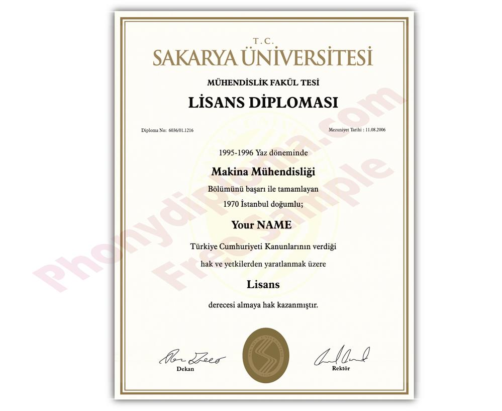 Buy Fake Diplomas and Transcripts from Turkey