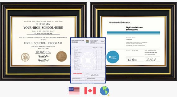Buy Fake High School and Secondary Diplomas and Transcripts from PhonyDiploma