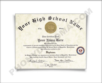 Fake High School Diploma Midwest Design Phonydiplomacom