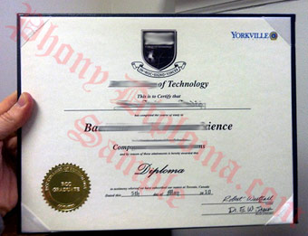 RCC College of Technology - Fake Diploma Sample from Canada