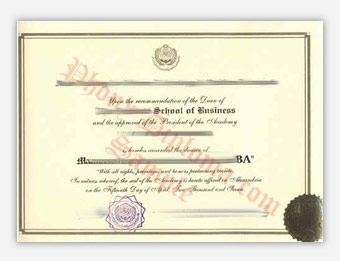 Arab Academy for Science - Fake Diploma Sample from Egypt