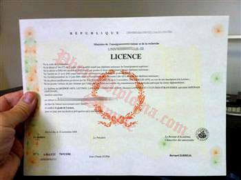 Buy Fake Diplomas and Transcripts from France