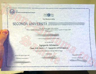 fake diploma samples from italy