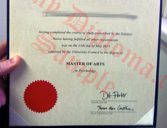 Victoria University of Wellington - Fake Diploma Sample from New Zealand