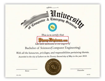National University - Fake Diploma Sample from Singapore