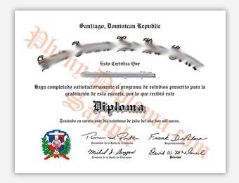Fake Spanish Diploma Samples