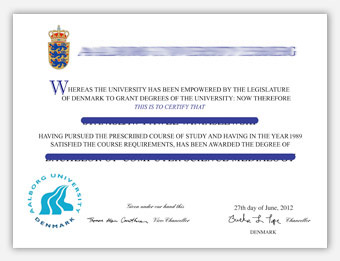 Fake Diploma Samples from Sweden