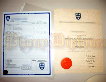 University of Liverpool - Fake Diploma Sample from United Kingdom