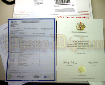 International Canada Fake Diploma and Transcripts Package